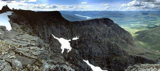 Ben Nevis in the early summer