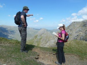 Three Peaks Challenge navigation training course